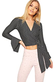 Candid Styles Womens Long Sleeve Polo Turtle Neck Bodysuit Top Ladies Leotard T-Shirt 8-22