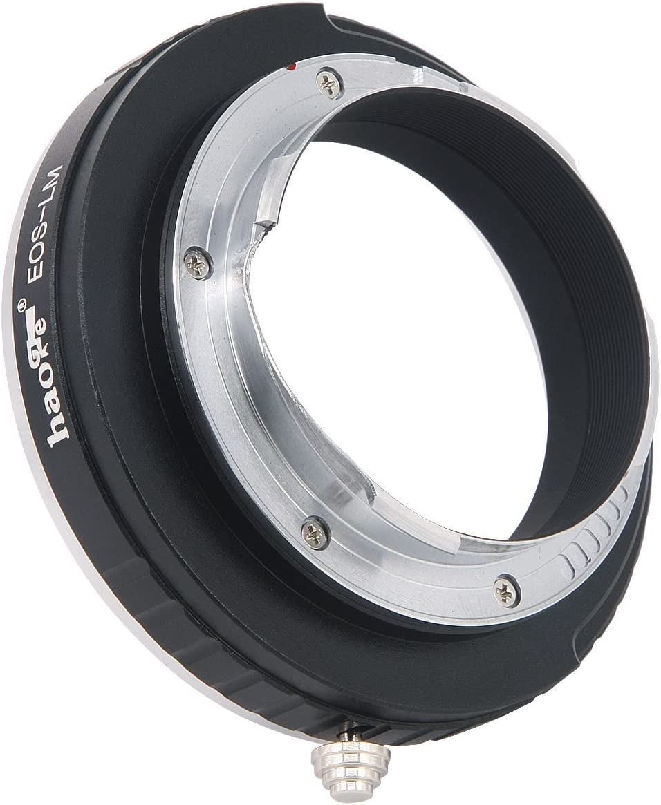 M-A M4 M1 M9 Haoge Lens Mount Adapter for Canon EOS EF Lens to Leica M LM Mount Camera Such as M240 M7 M262 M240P M-E M-P M8 M3 M Monochrom M2 M5 M6 M M9-P MP M10