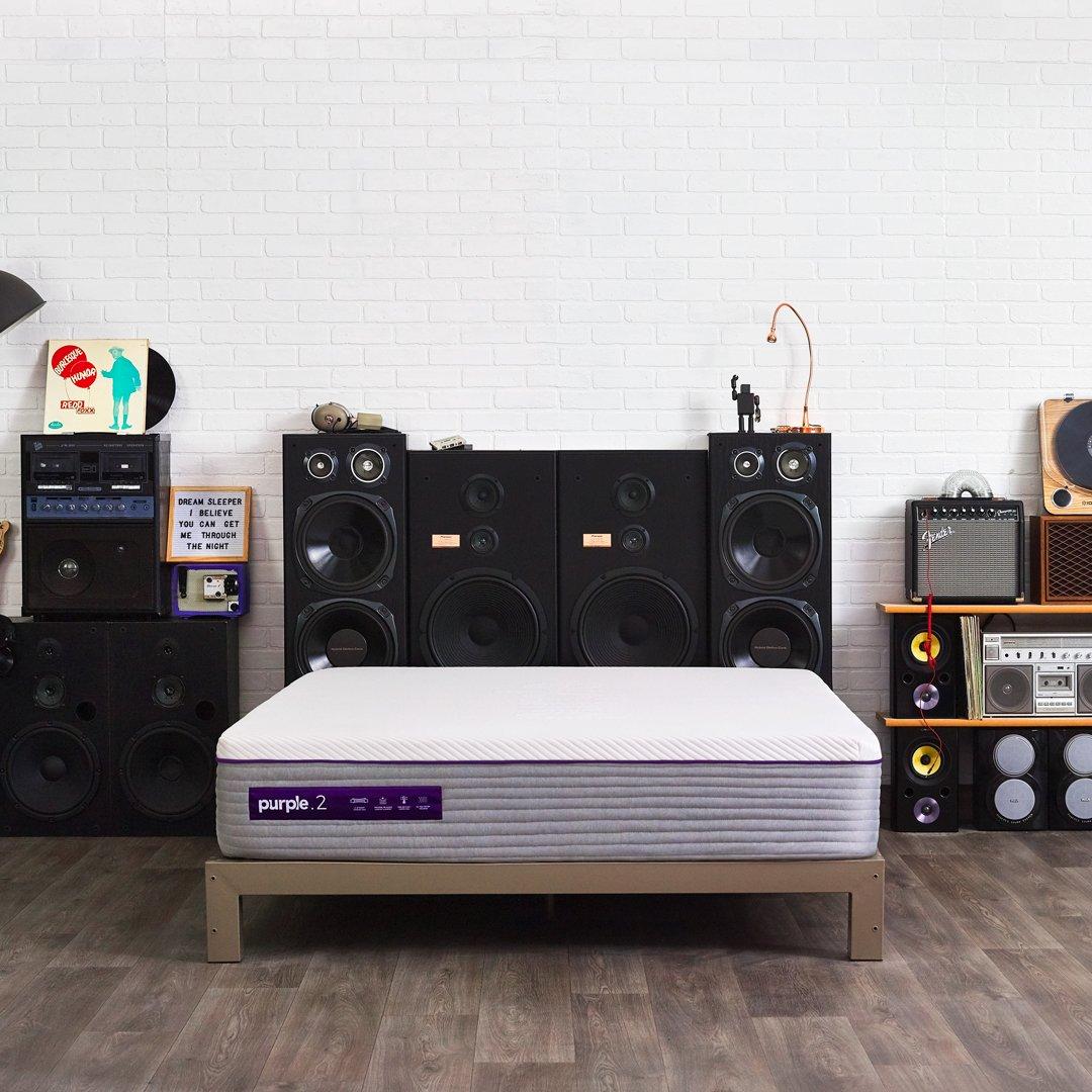 New Purple Mattress- Best Mattress for Back Sleepers