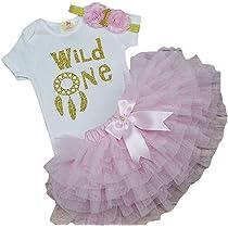 Birthday Dress Lace Trim A-Line Wild One Dress Wild One Outfit First Birthday One Birthday Dress First Birthday Dress Birthday Girl