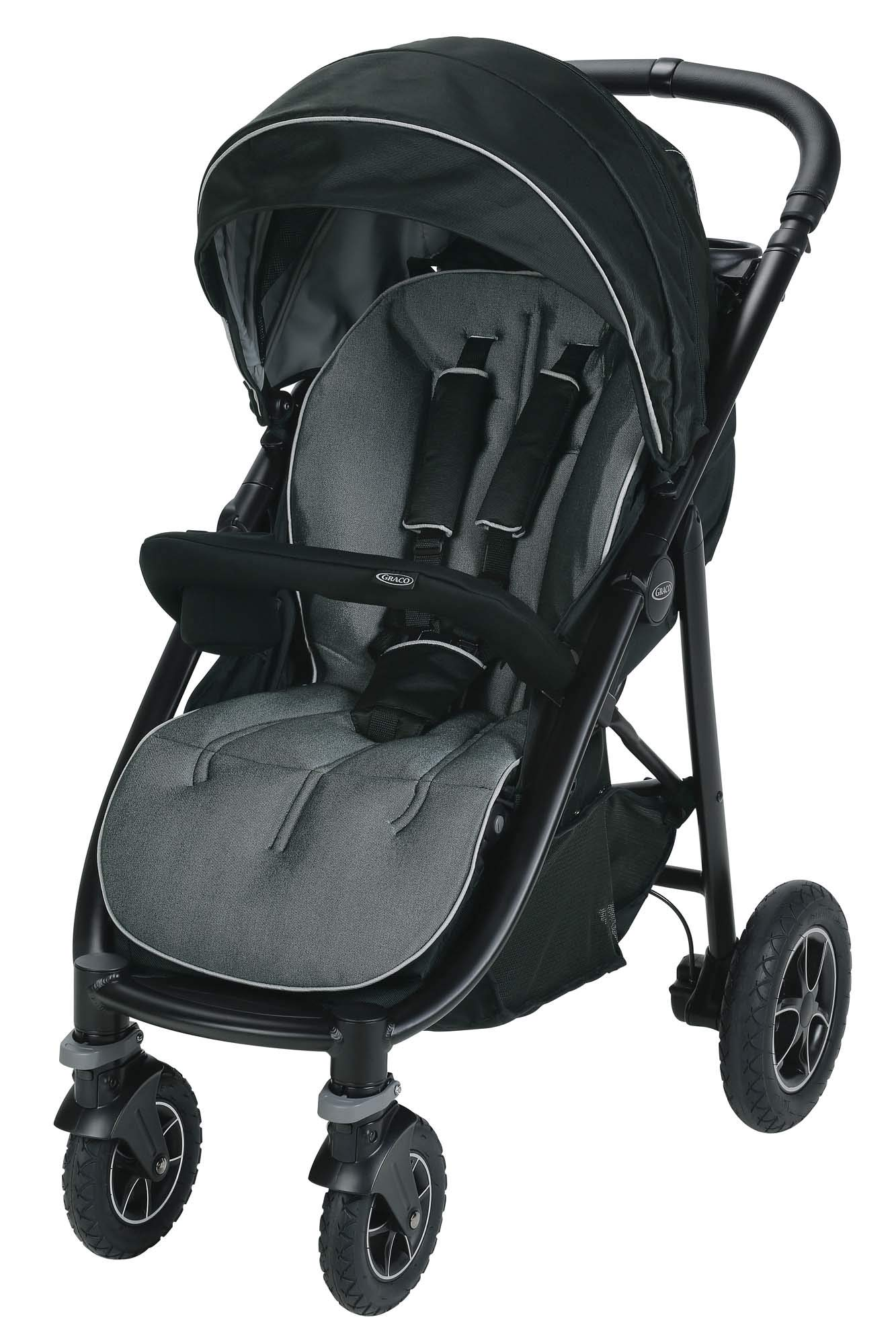 Graco Aire4 Platinum Stroller | Lightweight Baby Stroller, Tuscan by Graco