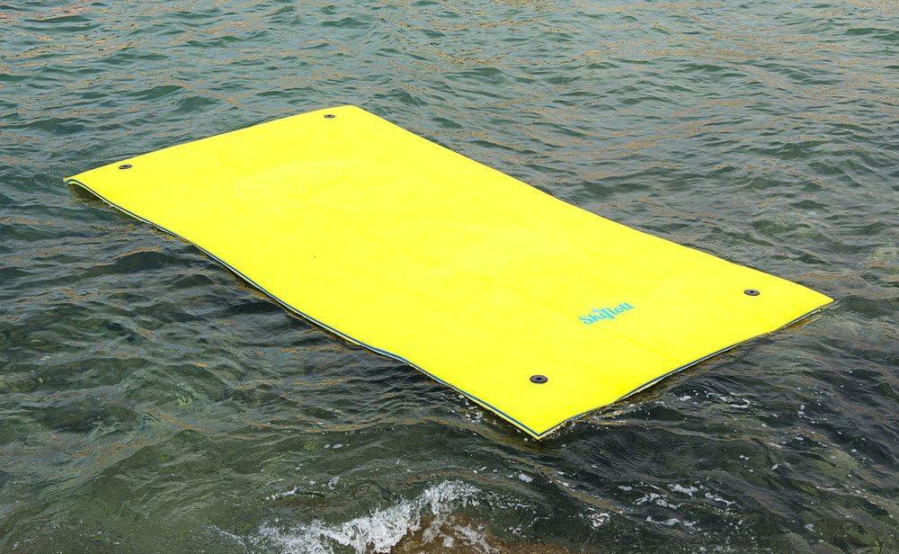 Colchón Flotador esquí RÁPIDO CUATRO Seis arbeitsplätze 350 cm x 180cm x 3,5cm para MAR BÁLTICO PISCINA
