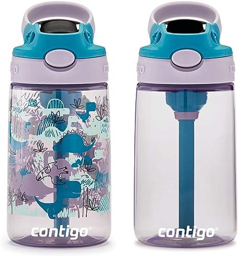 4 CONTIGO KIDS AUTOSPOUT 14 oz WATER BOTTLES BOYS /& GIRLS EASY CLEAN