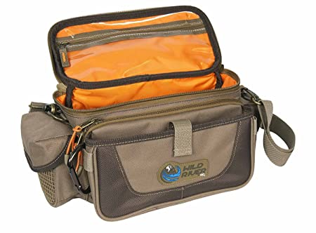 Wild River by CLC Custom Leathercraft WN3505 Tackle Tek Mission Lighted Convertible Tackle Bag, Small, Trays Not Included