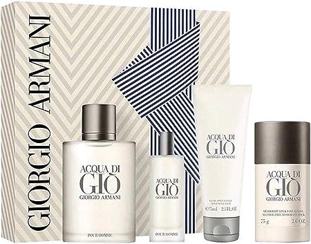Amazon.com: Acqua Di Gio For Men By Giorgio Armani Gift Set: Everything Else