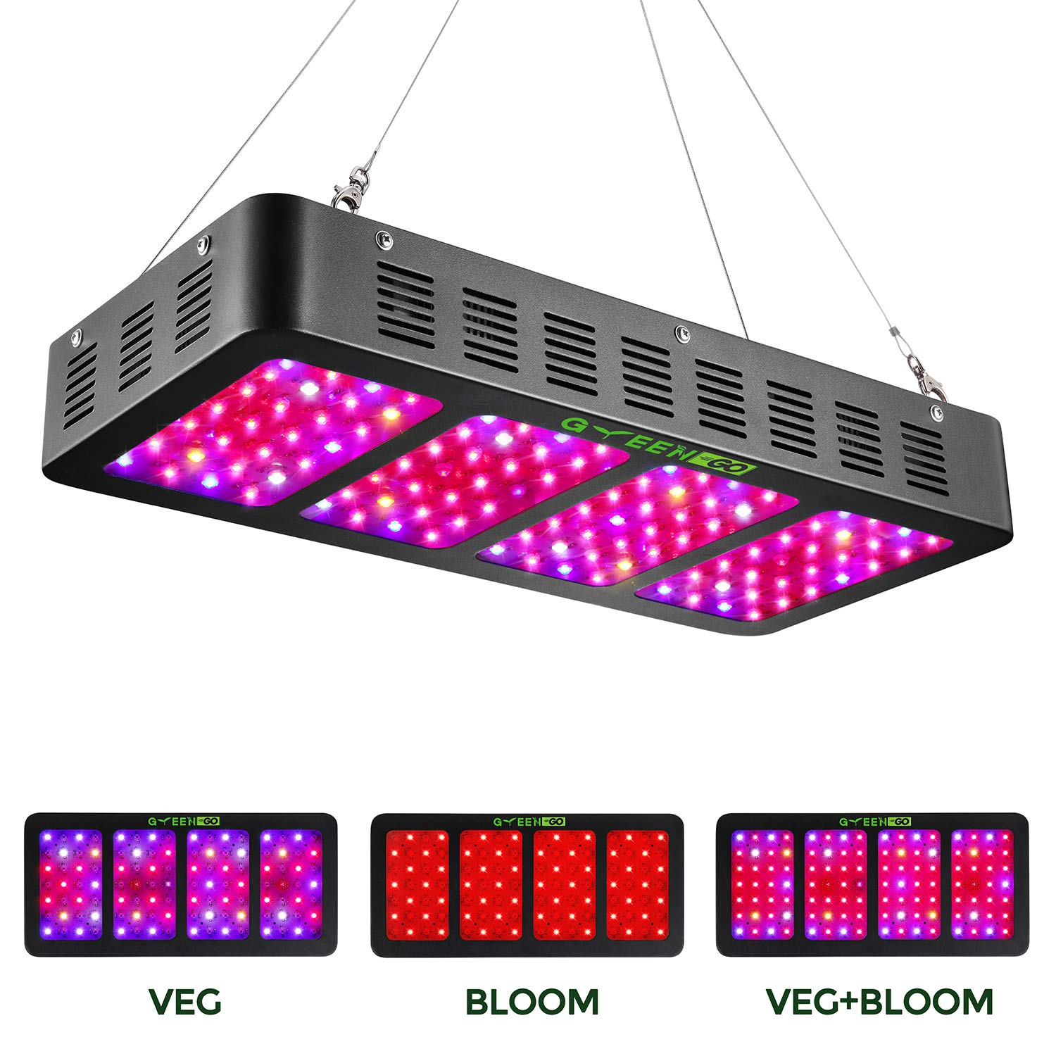 Indoor Full Spectrum Chips Plant amp;bloom Light Veg With Switch Daisy Veg For Plants greengo 3 1200w Chain Led Lamp Grow And Flowerled kuwOZiXPTl