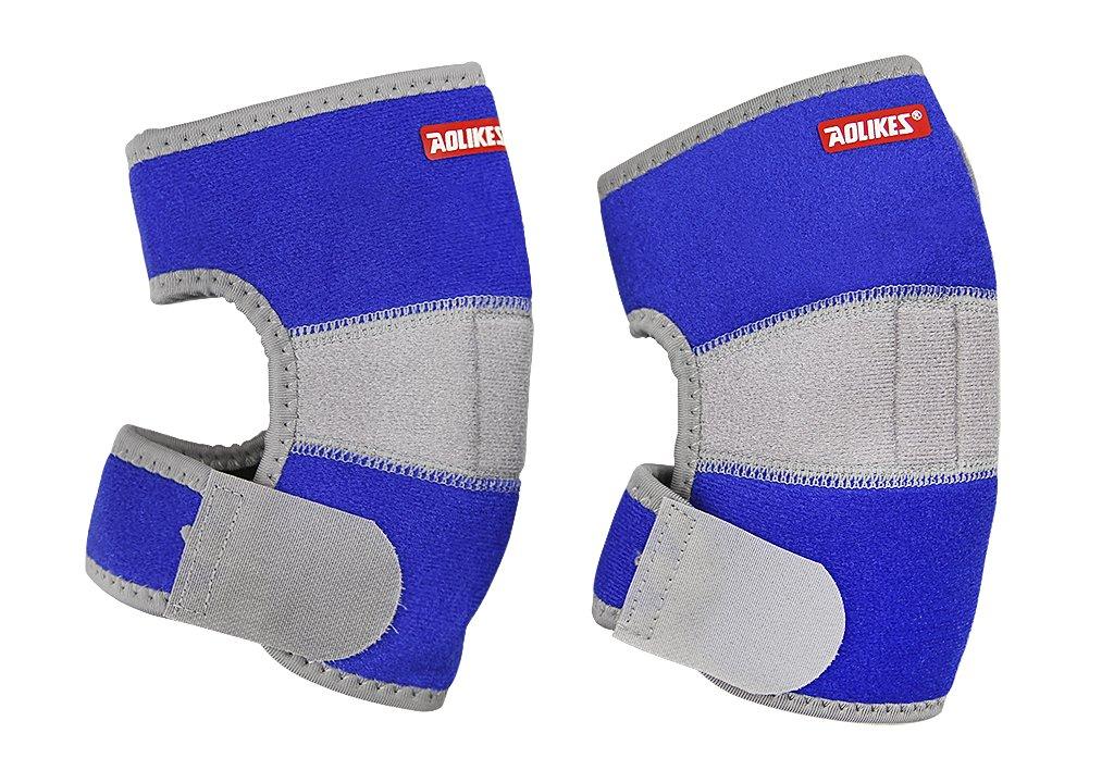 Liying Neu Kinder Ellenbogenbandage Sportstulpe Ellenbogenschützer Handgelenkschoner Unterarmschützer Armschoner für Sport Outdoor