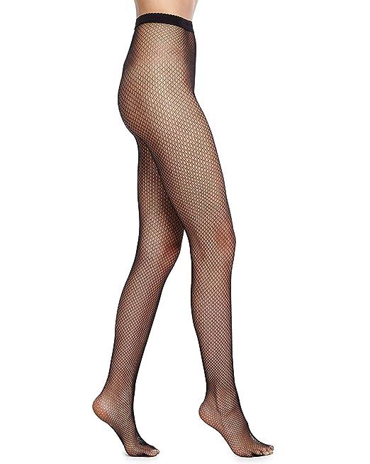 e01fa4e02c9 Sensual Lady Women s High Waist Sexy Lace Fishnet Lingerie Pantyhose  Stockings Small Mesh