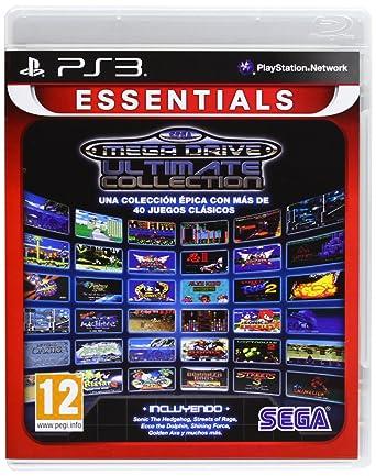Sega Mega Drive Ultimate Collection Essentials Amazon Es Videojuegos