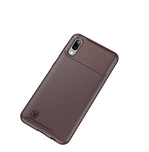 Cases, Covers & Skins Cell Phone Accessories Considerate For Samsung Galaxy A10 Case Carbon Slim Gel Fibre Cover Soft Silicone
