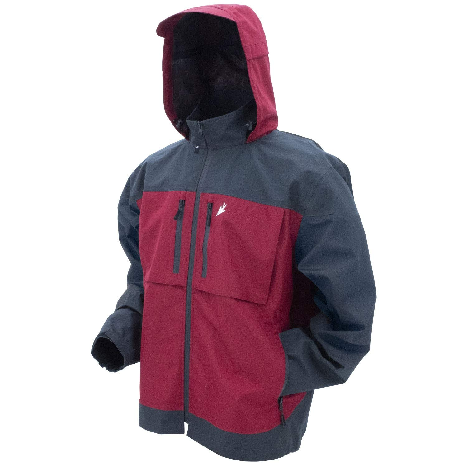 Frogg Toggs Anura HD Jacket Red Carbon XXL [並行輸入品]   B07KDQMWTQ