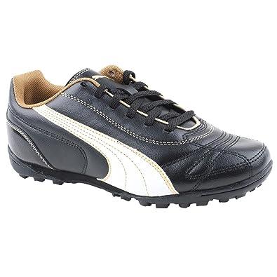 Boy Junior Puma Kratero Black White Astro Trainers Size 2  Amazon.co ... 6d7282d34