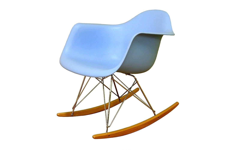 Wonderful Amazon.com: Baxton Studio Letterio White Cradle Chair: Kitchen U0026 Dining