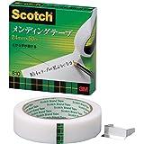 3M スリーエム スコッチ メンディングテープ 紙箱入り 24mm×50m 芯76mm 810-3-24