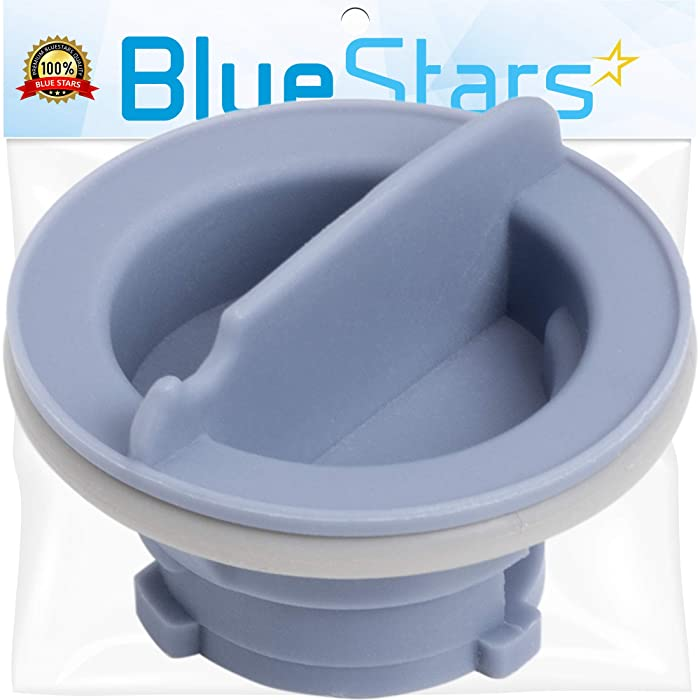 Ultra Durable 8564929 Dishwasher Rinse Aid Cap Replacement Part by Blue Stars - Exact Fit for Whirlpool Dishwashers - Replaces PS982160 AP3866312