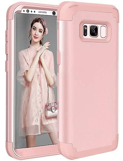 reputable site 6487b 542c4 Amazon.com: S8 Case, Galaxy S8 Case for Women Girls, Tobomoco ...