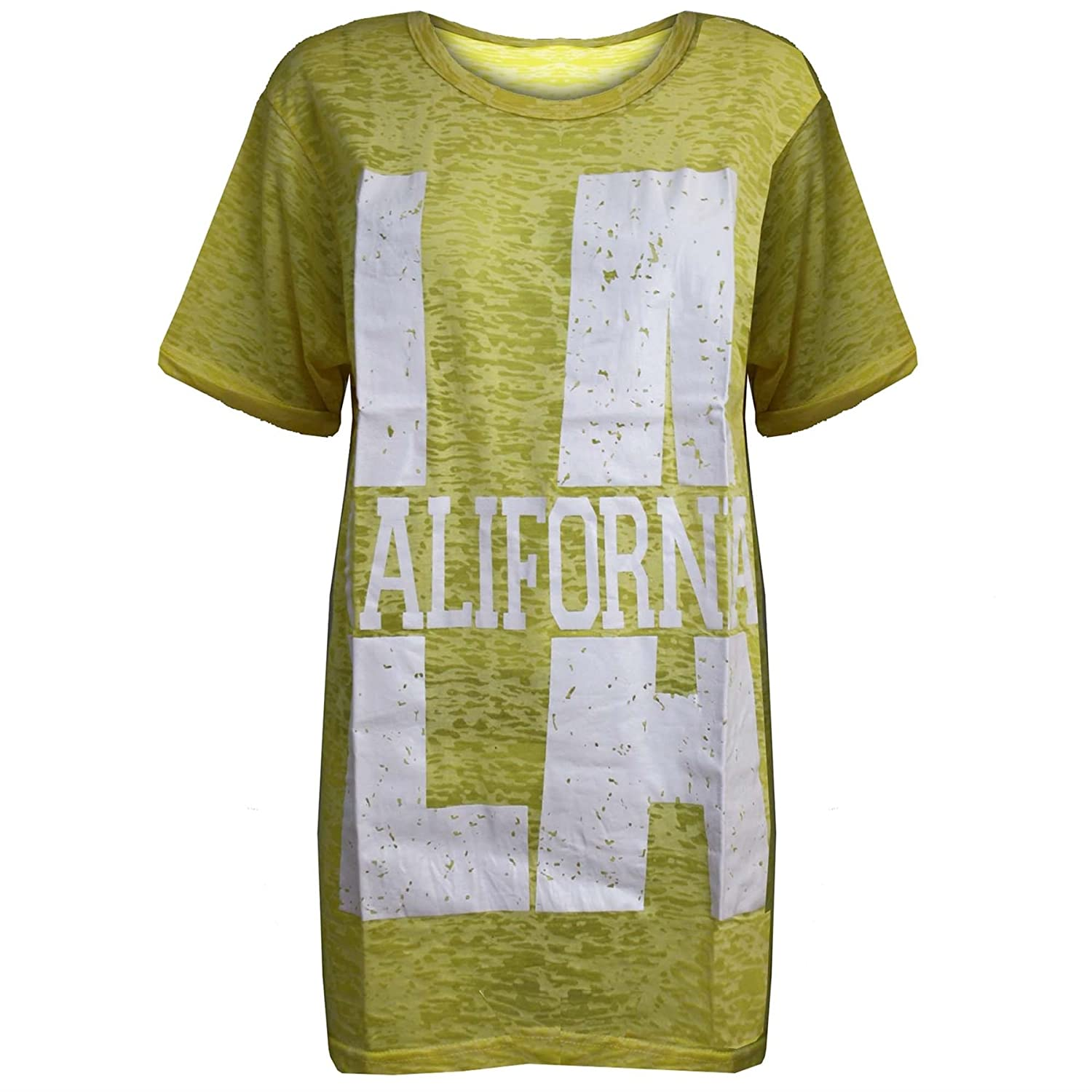 Pure Fashion Damen T-Shirt Mehrfarbig