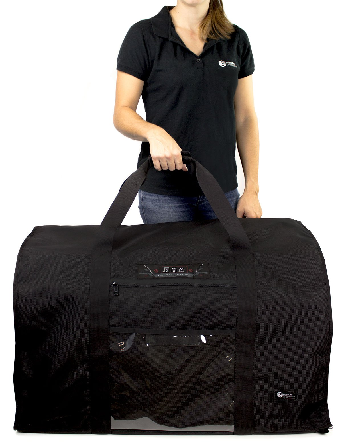 Mission Darkness Revelation EMP Shield for Generators and Extra-Large Electronics. Military-Grade Faraday Bag Designed for EMP/CME Protection, Forensic Investigators, preppers, and Personal Security by Mission Darkness (Image #4)