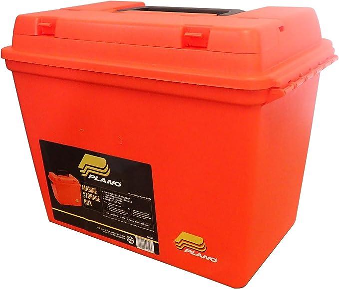 Details about  /Plano 131252 Dry Storage Emergency Marine Box Orange