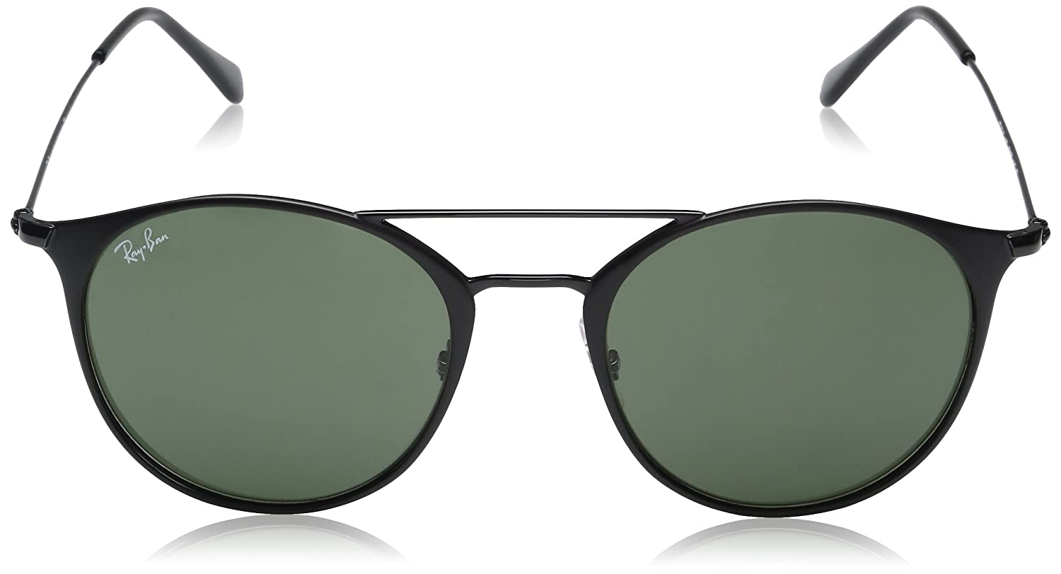 3d8e6a60f9 Amazon.com  Ray-Ban Steel Unisex Round Sunglasses