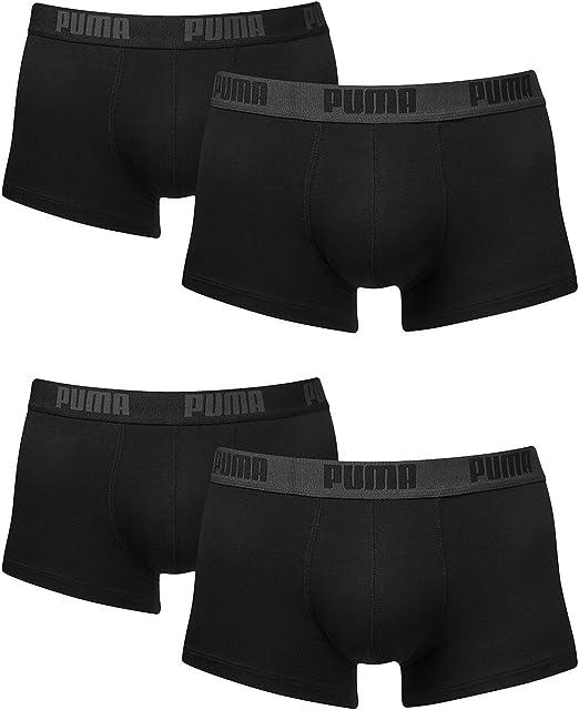 4 Puma Herren Boxershorts, Trunk, Short Boxer Shorts (S