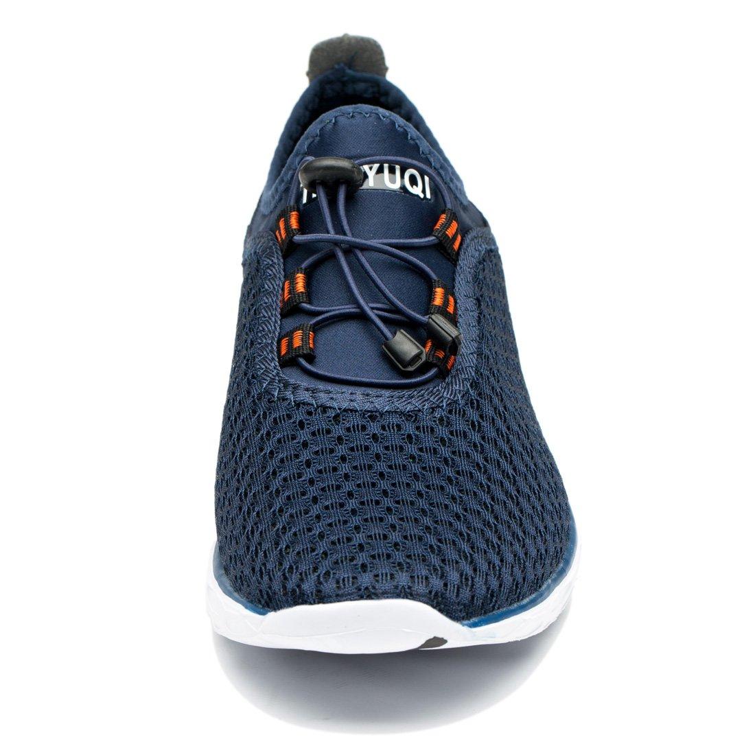 TIANYUQI Men's Mesh Slip On Water Shoes by TIANYUQI (Image #4)