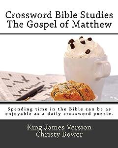 Crossword Bible Studies - The Gospel of Matthew: King James Version