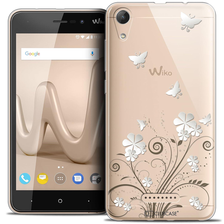 Housse Etui 5 Caseink Coque pour Wiko Lenny 4 Crystal Gel HD Collection Summer Design Papillons - Souple - Ultra Fin - Imprim/é en France
