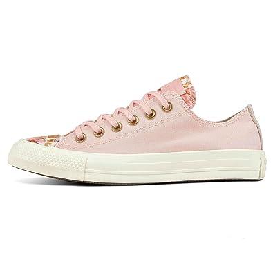 Converse Mädchen CTAS Ox Storm Fitnessschuhe, Mehrfarbig Pink/Field ...