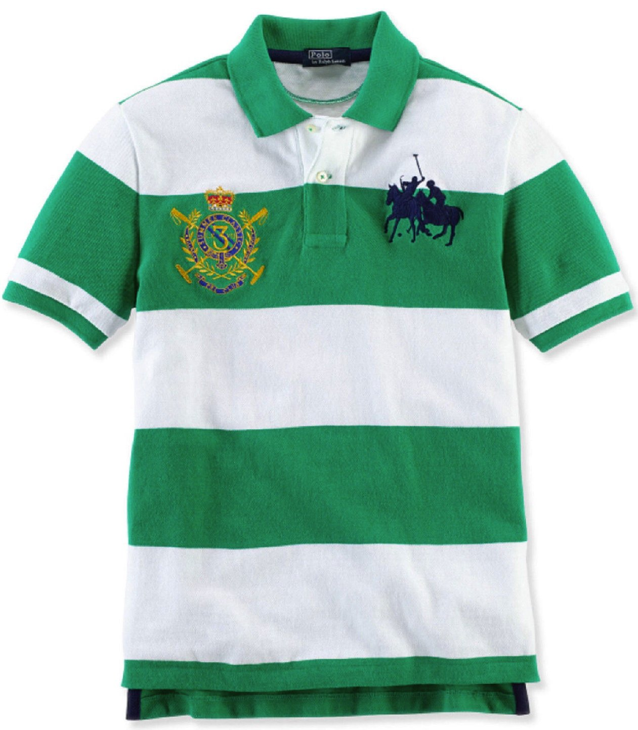 Amazon Ralph Lauren Boys Basic Mesh Polo 22t Green Clothing