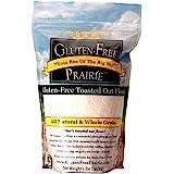 Gluten-Free Prairie Toasted Oat Flour, Certified Gluten Free Purity Protocol, Non-GMO, Vegan, 1 Pound