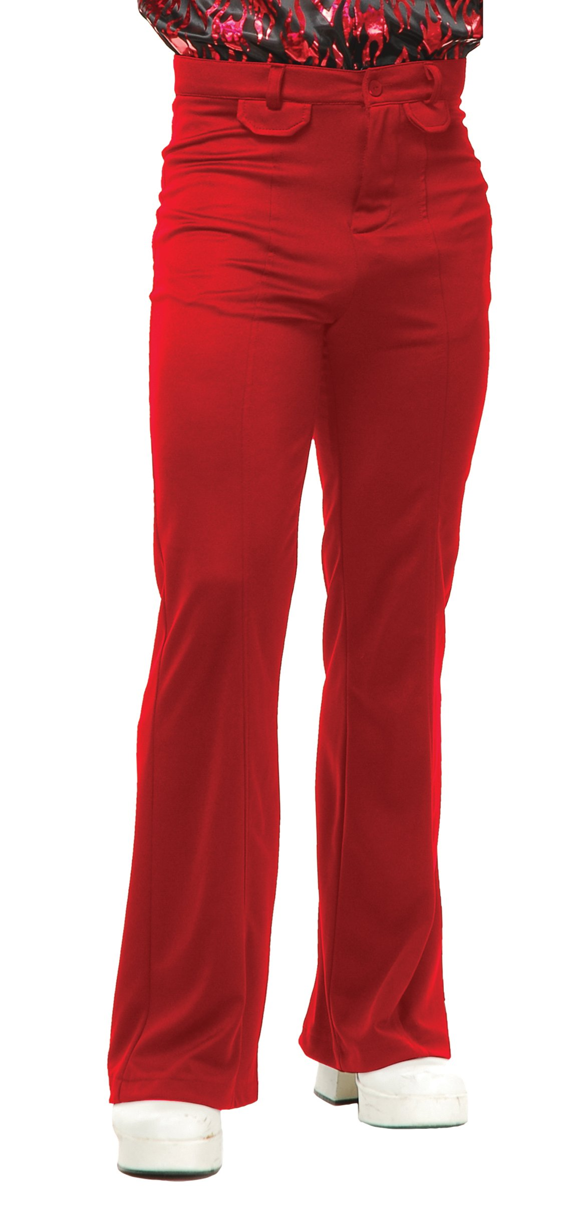 Charades Men's Disco Pants, Red, 32 by Charades