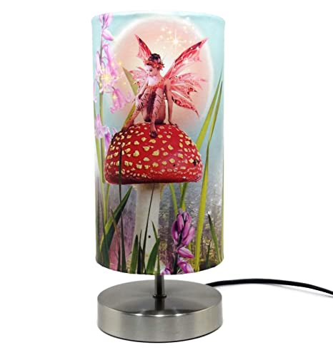 Fairy lamp lampshade light shade night light girls bedroom bedside table desk lamps woodland childrens kids