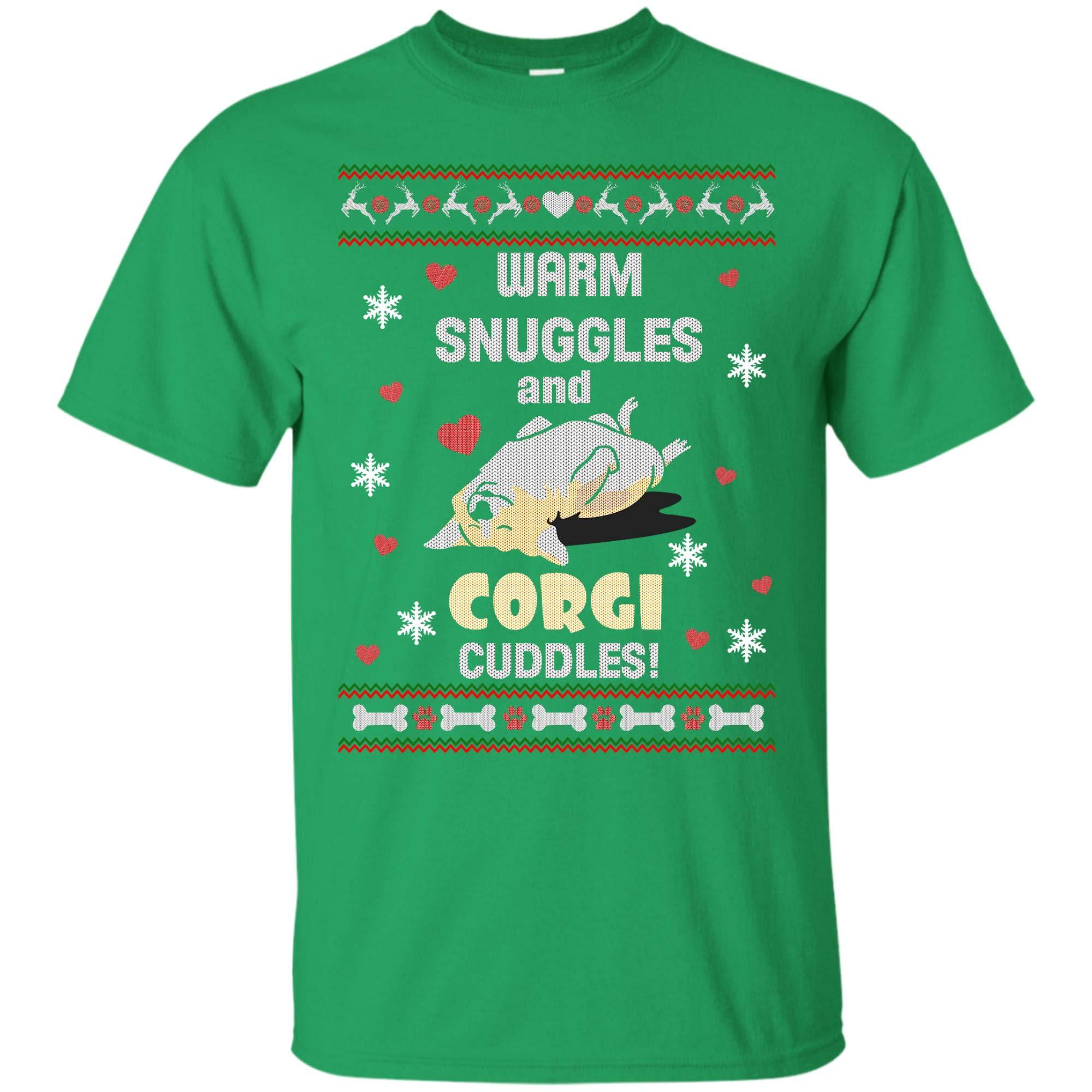 Ugly Christmas Corgi Dog Lover T Shirt For And 1506