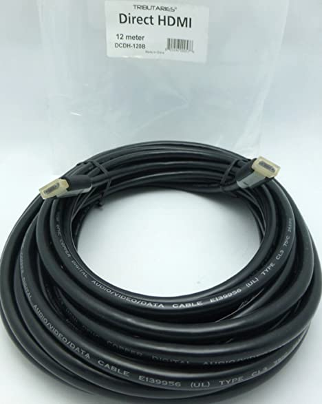 Tributaries Direct HDMI 12 meter Digital HDMI cable DCDH-120B