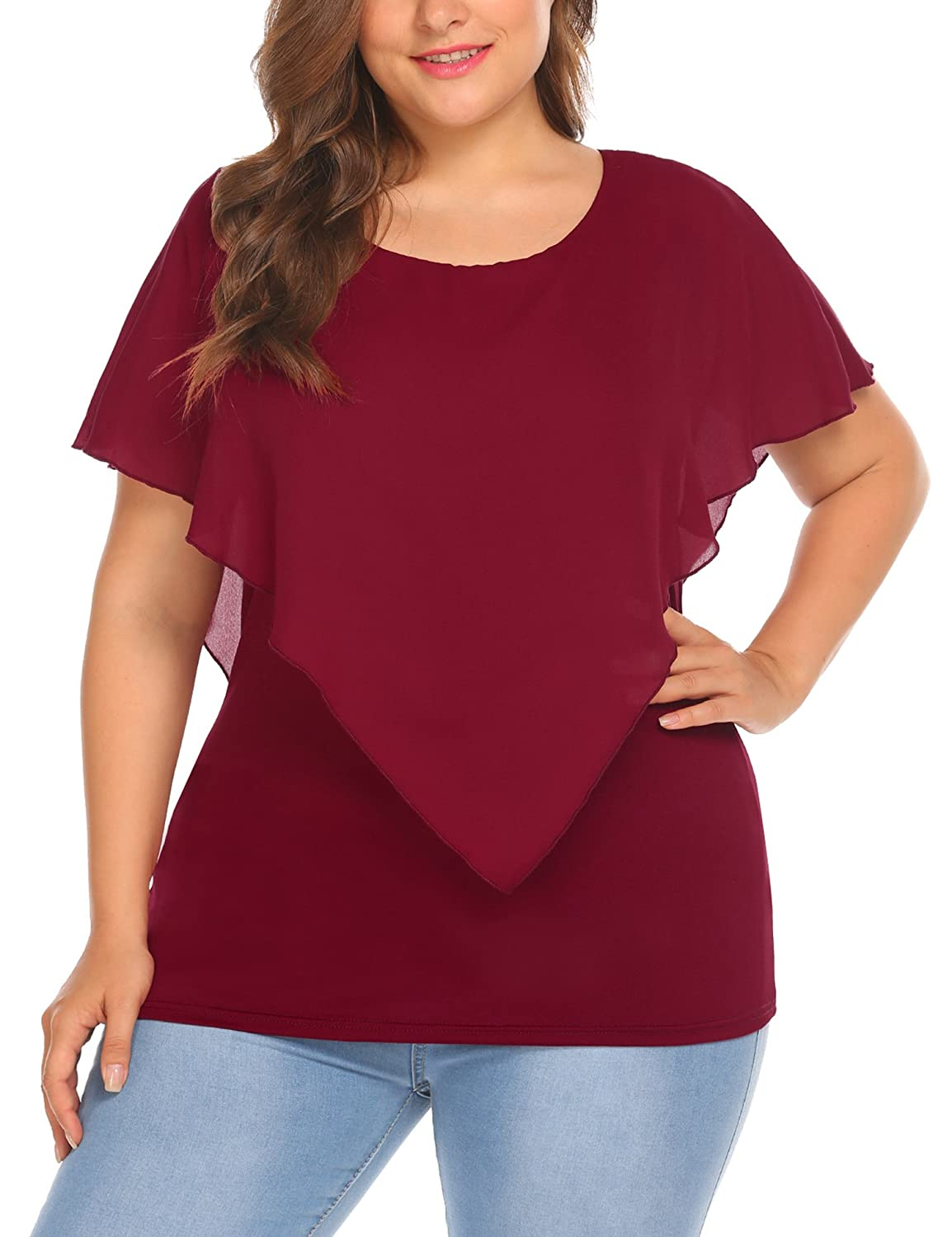 Top 10 wholesale Amazon Plus Size Tops - Chinabrands.com 9ec20e86bad4