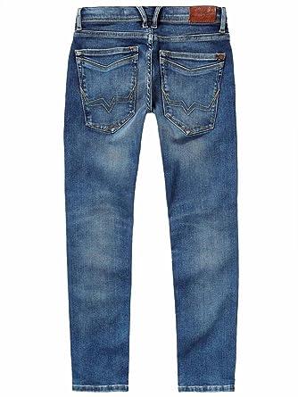 95119e8a36b5 Pepe Jeans-Jean Skinny Finley Denim Bleu stoné ado garçon  Amazon.fr   Vêtements et accessoires