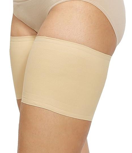 Bandelettes - Bandas elásticas unisex para evitar el roce de los muslos - Beig A
