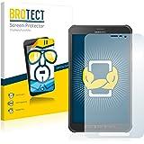 2x BROTECT Screen Protector Samsung Galaxy Tab Active SM-T365 Protector - Crystal-Clear, Anti-Fingerprint