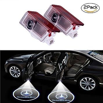 Luces LED para puerta de coche de Lyauta, 2 unidades: Amazon.es: Coche y moto