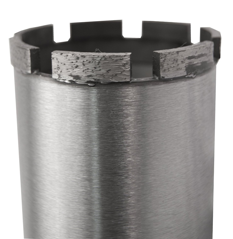 Lackmond SPL Series - Wet Cured Concrete Core Drill Bit - 6'' Reinforced Concrete Hole Saw with Segmented Diamond Rim Configuration & 1 1/4''-7 Thread Arbor - 50060