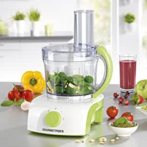 Gourmet Maxx Robot de cocina multifuncional con 3 accesorios ...