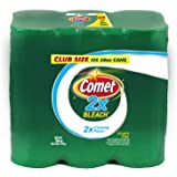 Comet® Cleanser 2X Cleaning Power, with 2X Bleach - Cuts Tough Grease, Cleans Away Rust and Deep Stains - 28 Oz - Pack of 4 - 112 Total Oz