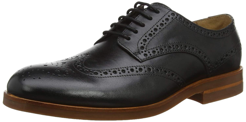 TALLA 41 EU. H by Hudson Balleter, Zapatos de Cordones Brogue para Hombre