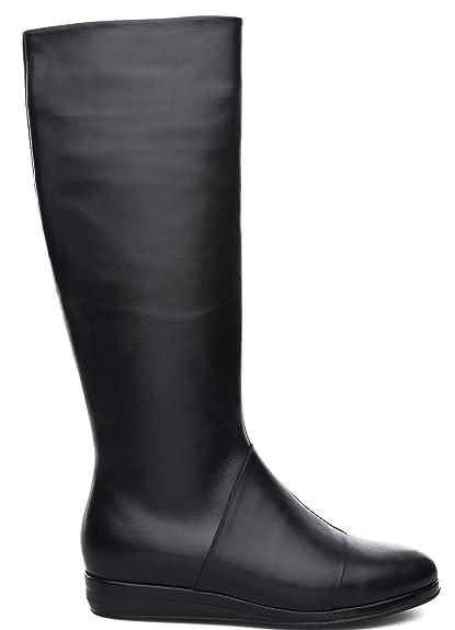 : Camper Anne k400008 botas para mujer, negro, 35