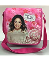 VIOLETTA-DISNEY-SAC A MAIN BANDOULIERE BESACE THIS IS ME!-23X21X6 CM-NEUF SOUS BLISTER