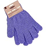 Exclaim Beauty Exfoliating Gloves Body Scrubber Gloves For Shower, Spa, Massage Shower Gloves Dual Texture Bath Gloves…