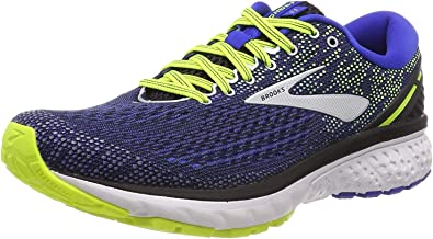 Brooks Ghost 11, Zapatillas de Running para Hombre, Negro (Black/Blue/Nightlife 069), 48.5 EU: Amazon.es: Zapatos y complementos
