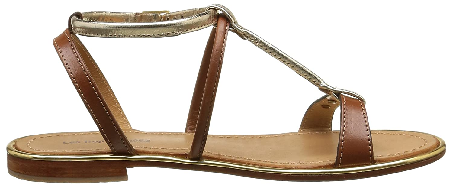 Les Tropeziennes Par M With Belarbi Womens Haquina Leather Sandals With M Ankle Strap B019Z3SHCA Sandals 463e33