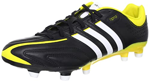 Adidas adiPure 11Pro TRX FG Fussballschuhe black-running white-vivid yellow - 41 1/3